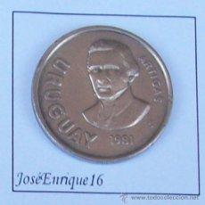Monedas antiguas de América - ARTIGAS URUGUAY 10 NUEVOS PESOS 1981 - 15457389