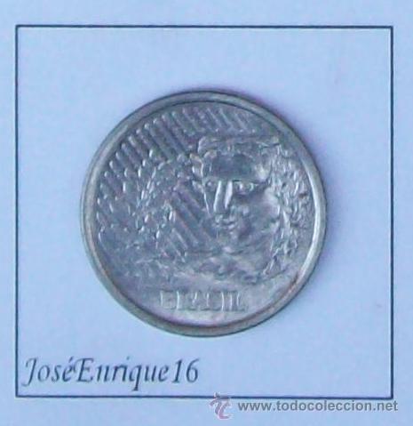 50 CENTAVOS BRASIL 1994 (Numismática - Extranjeras - América)