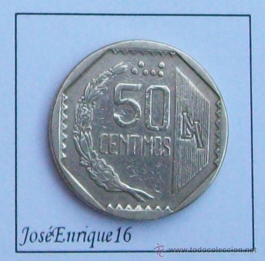 Monedas antiguas de América: PERU 50 CENTAVOS 1994 - Foto 2 - 15474711