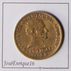 Monedas antiguas de América: MONEDA 10 PESOS URUGUAY - AÑO 1968. Lote 15793250
