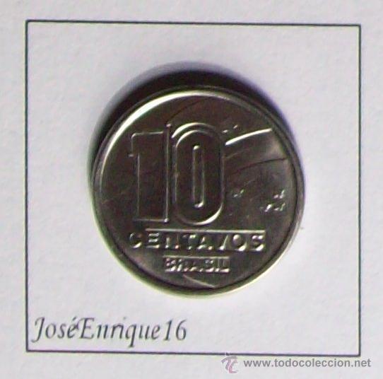 Monedas antiguas de América: MONEDA 10 CENTAVOS BRASIL - Foto 2 - 15809564