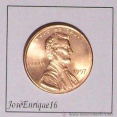 Monedas antiguas de América: ONE CENT 1997 USA. Lote 144699776
