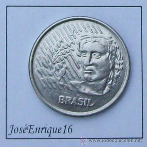 1996 BRASIL, MONEDA 10 CENTAVOS (Numismática - Extranjeras - América)