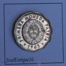 Monedas antiguas de América: MONEDA ARGENTINA 25 PESOS, 1965. Lote 18142707