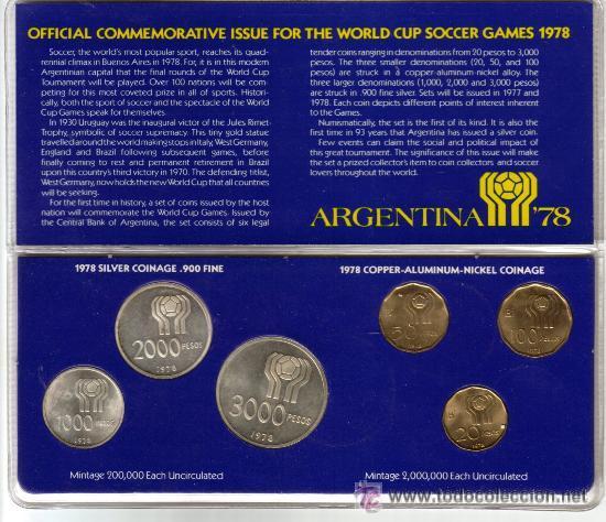 Monedas mundial de futbol argentina 78 - Sold through Direct