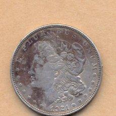 Monedas antiguas de América: MONEDA 103 - EEUU UN DOLAR 1921 - EEUU UN DOLAR 1921 - EEUU UN DOLAR 1921 - . Lote 26893656