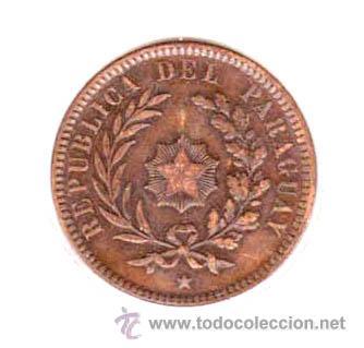 PARAGUAY - 2 CENTESIMOS - 1870 - EBC - ESCASA (Numismática - Extranjeras - América)