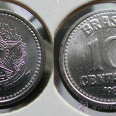 Monedas antiguas de América: BRASIL 10 CENTAVOS 1987. Lote 21928423