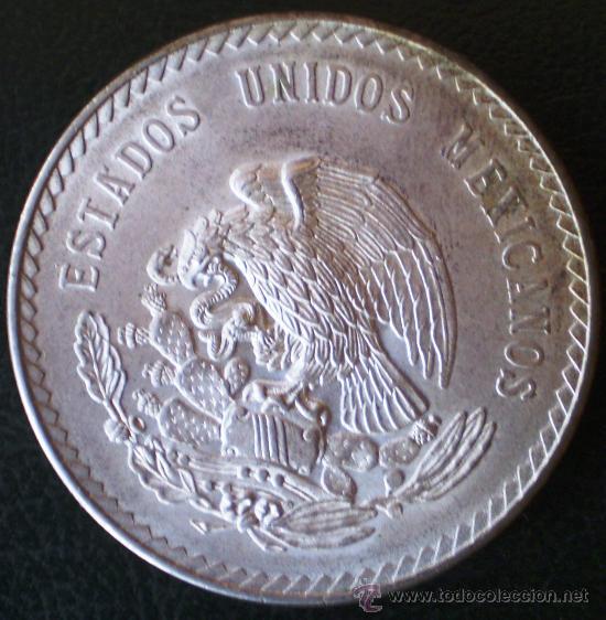 Monedas antiguas de América: Mejico 1948 5 Pesos Plata Ver Fotos - Foto 2 - 25846864