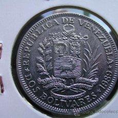 Monedas antiguas de América: VENEZUELA 2 BOLIVARES 1989. Lote 26711757