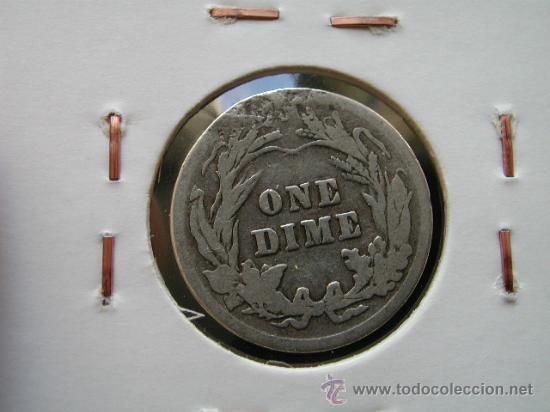 Monedas antiguas de América: ESTADOS UNIDOS - USA - 1 DIME 1903 - PLATA - GOLPECITOS VER FOTO - Foto 2 - 26712392