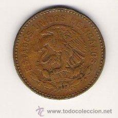 Monedas antiguas de América: MONEDA 50 CENTAVOS AÑO 1955 ESTADOS UNIDOS MEXICANOS. Lote 26792971