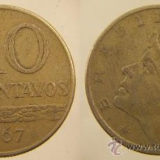 Monedas antiguas de América: MONEDA 10 CENTAVOS 1967 BRASIL. Lote 27100048