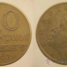 Monedas antiguas de América: MONEDA 10 CENTAVOS 1967 BRASIL. Lote 27100060