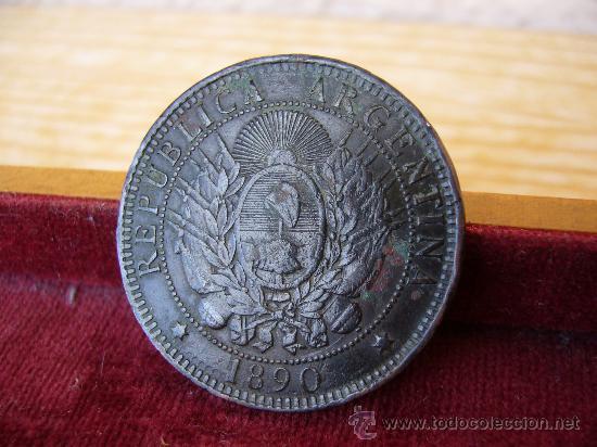 ARGENTINA - 2 CENTAVOS 1890 (Numismática - Extranjeras - América)