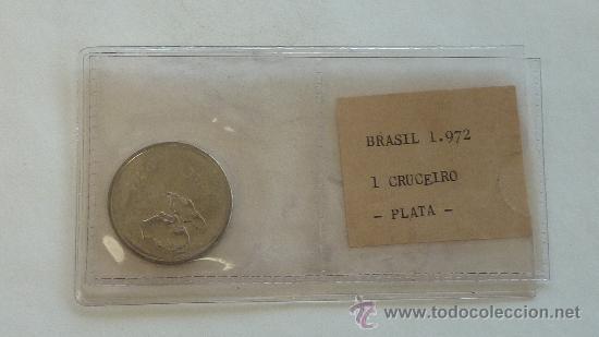 BRASIL, 1 CRUZEIRO DE 1972. (Numismática - Extranjeras - América)