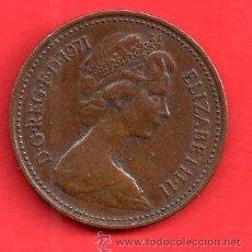 Monedas antiguas de América: MONEDA REPUBLICA ELIZABETH - II NEW PENNY DEL AÑO 1971. Lote 27880184