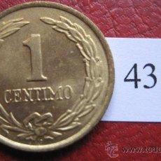 Monedas antiguas de América: PARAGUAY , 1 CENTIMO 1950 . Lote 28960799
