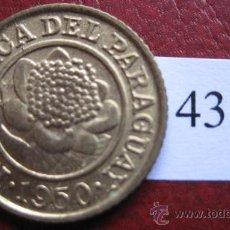 Monedas antiguas de América: PARAGUAY , 1 CENTIMO 1950 . Lote 28960819