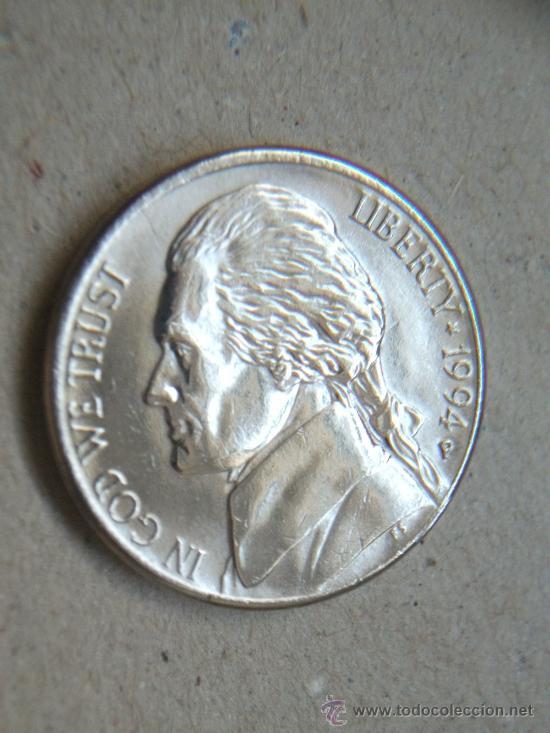 LOTE DE 6 MONEDAS 5 CENTAVOS USA - DISTINTOS AÑOS - (Numismática - Extranjeras - América)