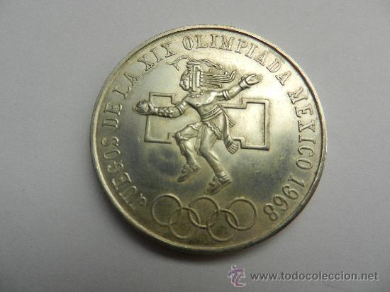 25 Pesos Mexicanos 1968 Juegos Olimpicos De 1 Comprar Monedas