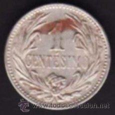 Monedas antiguas de América: 1 MONEDA - 1 CENTÉSIMO - REPÚBLICA ORIENTAL DE URUGUAY - 1936 - ORLA DE PALMAS. Lote 29852101