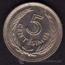 Monedas antiguas de América: 1 MONEDA - 5 CENTÉSIMOS - REPÚBLICA ORIENTAL DE URUGUAY - 1953 - ORLA DE PALMAS / ARTIGAS. Lote 29856651