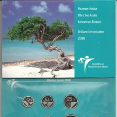 Monedas antiguas de América: CARTERA MONEDAS ARUBA 2008. Lote 29932757