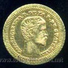 Monedas antiguas de América: 4 REALES DE ORO 1860 - GUATEMALA. Lote 31354340