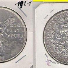 Monedas antiguas de América: MONEDA DE 2 PESOS DE MÉJICO DE 1921. PLATA. MBC- (ME319).. Lote 32176331