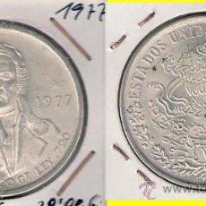 Monnaies anciennes d'Amérique: ME332-MÉJICO. 100 PESOS. 1977. PLATA. SIN CIRCULAR-. Lote 32249797