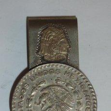 Moedas antigas da América: MONEDA CON PINZAS, DE PLATA 925. ANTIGUO, DESCONOZCO DEL TEMA.. Lote 32351225