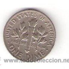 Monedas antiguas de América: 1 CENTAVO (DIME) USA 1967. Lote 32800776