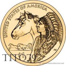 Monnaies anciennes d'Amérique: ESTADOS UNIDOS / USA 1 DOLAR 2012 AMERICAN NATIVE (SACAGAWEA) P. Lote 204657338