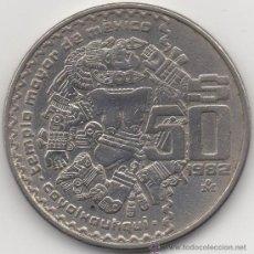 Monedas antiguas de América: CINCUENTA PESOS. ESTADOS UNIDOS MEXICANOS. 1982.. Lote 33034688