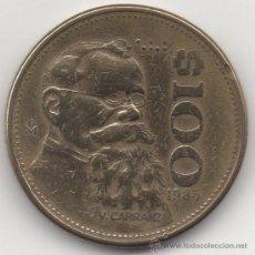 Monedas antiguas de América: CIEN PESOS. ESTADOS UNIDOS MEXICANOS. 1985.. Lote 33035219