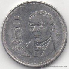 Monedas antiguas de América: CINCUENTA PESOS. ESTADOS UNIDOS MEXICANOS. 1988.. Lote 33035470