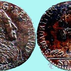 Monedas antiguas de América: ISLA MAURICIO.-1796 VICTOR AMEDO 5 SOLES COBRE MUY BUENA CONSERVACION MBC+. Lote 33293455