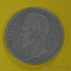 Monedas antiguas de América: MONEDA DE PLATA, VENEZUELA - 5 BOLIVAR . 1912 PLATA, BOLIVAR - 1912 ..PLATA 0'900 .. 25 GRAMOS. Lote 33345687