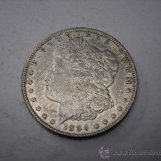 Monedas antiguas de América: 1 DOLAR USA DE PLATA , TIPO MORGAN DE 1886. Lote 33358002