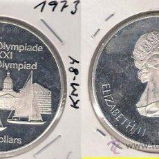 Monedas antiguas de América: ME582-CANADÁ. 5 DÓLARES. 1973. PLATA. PROOF. (JUEGOS DE LA XXI OLIMPIADA, MONTREAL 1976).. Lote 33404361