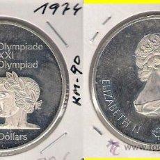 Monedas antiguas de América: ME585-CANADÁ. 5 DÓLARES. 1974. PLATA. PROOF. (JUEGOS DE LA XXI OLIMPIADA, MONTREAL 1976).. Lote 33405040