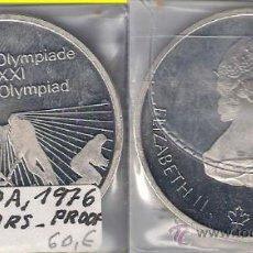 Moedas antigas da América: ME607-CANADÁ. 10 DÓLARES. 1976. PLATA. PROOF. (JUEGOS OLÍMPICOS DE MONTREAL 1976).. Lote 33419815