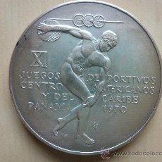 Monedas antiguas de América: 5 BALBOAS DE PLATA 1970. XI JUEGOS DEPORTIVOS CENTROAMERICANOS Y DEL CARIBE.REPUBLICA DE PANAMA. Lote 33747667