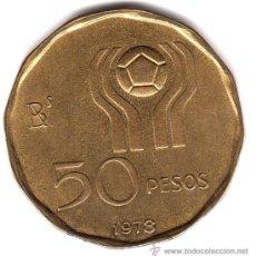 Monedas antiguas de América: 50 PESOS, ARGENTINA 1978, EBC+. Lote 33775861
