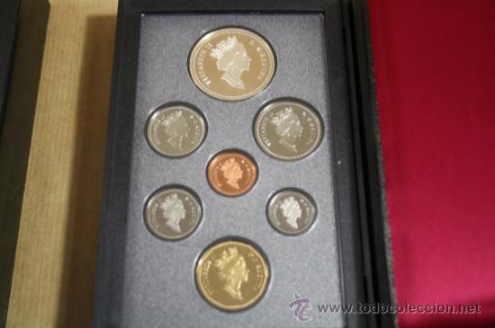 Monedas antiguas de América: Estuche Canada Calidad Proof 7 Monedas 1994 Incluye Dollar de Plata - Foto 2 - 33820053