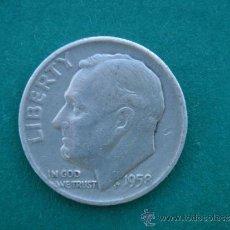 Monedas antiguas de América: ONE DIME 1958 LIBERTY- ESTADOS UNIDOS DE AMERICA (USA)-. MBC+ . Lote 33972331