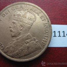 Monedas antiguas de América: CANADA , 1 CENTIMO 1917. Lote 34607243