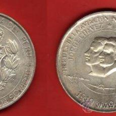 Monedas antiguas de América: PERU 200 SOLES 1974, HEROES DE LA AVIACION. Lote 34679102