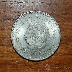 Monedas antiguas de América: MONEDA DE CINCO PESOS MEXICANOS DE 1947 PLATA . Lote 35511291